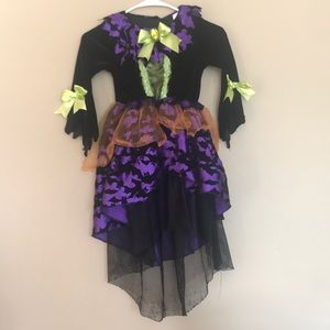 Witch costume size small from target